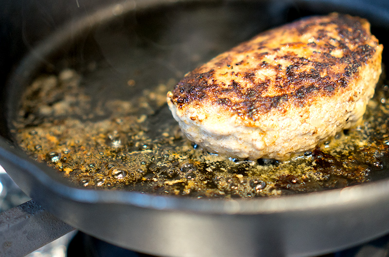 自家製ハンバーグステーキ