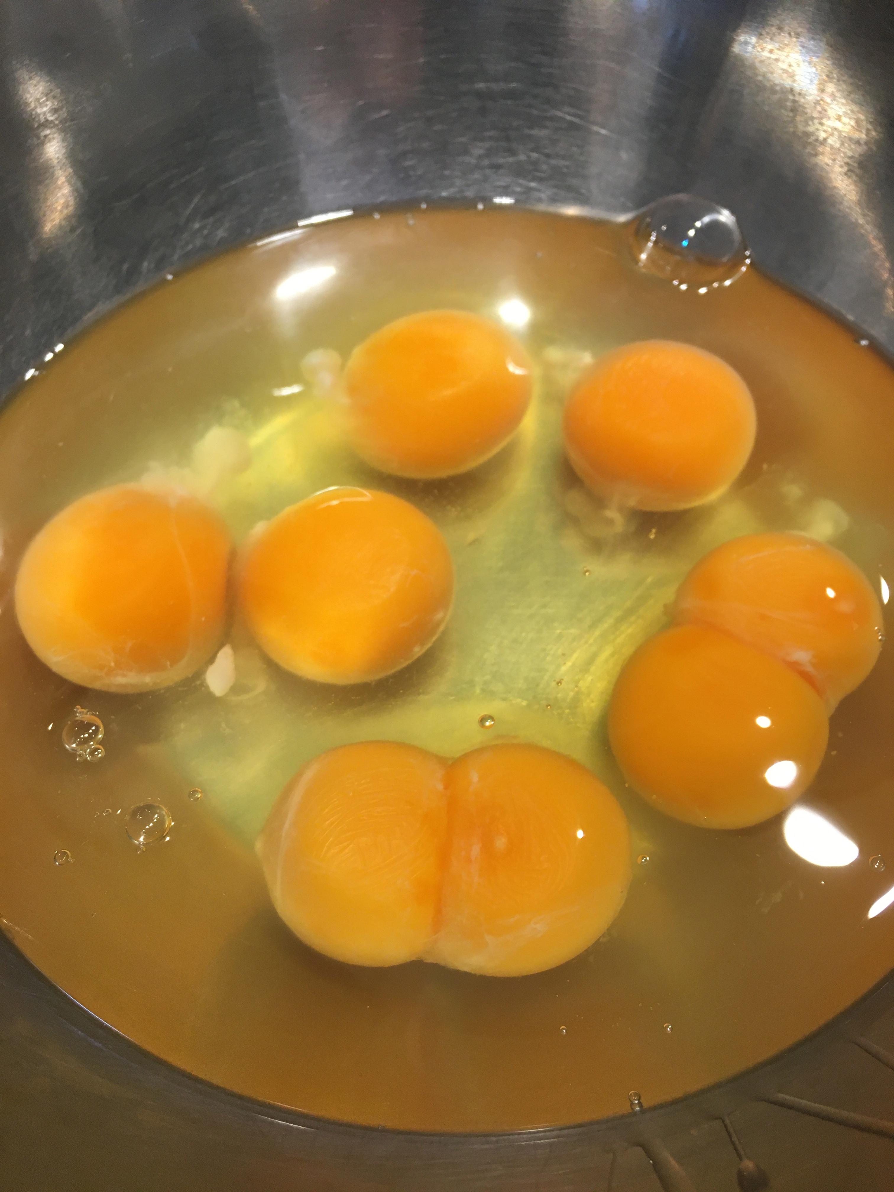 双子の卵は嬉しいな!